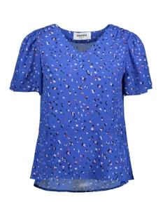 Vero Moda T-shirt VMDEE SS TOP NE GA 10206704 Strong Blue/SIENNA
