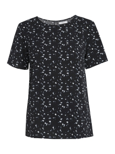 Pieces T-shirt PCINEA SS TOP PB 17087120 Black/BLURRY DOT