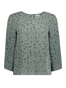 Vero Moda Blouse VMCIAO 3/4 TOP GA 10198915 Chinois Green/DO/Black
