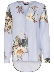 Only Blouse onlCARLA FALLOW SHIRT WVN 15158720 Chambray Blue/FLOWER