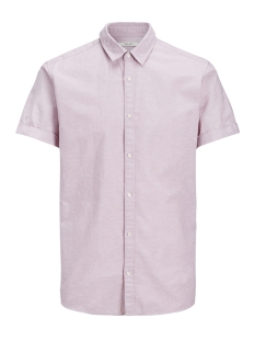 Jack & Jones Overhemd JPRSUMMER COLOR SHIRT SS REG COLLAR 12136296 Lilas