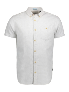 Jack & Jones Overhemd JORPORTLAND SHIRT SS ONE POCKET 12134557 Cloud Dancer