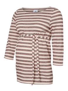Mama-Licious Positie shirt MLSUSANNE 3/4 JERSEY TOP 20009254 Snow White