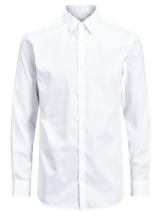 Jack & Jones Overhemd JPRNON IRON SHIRT L/S NOOS 12125792 White/SLIM FIT