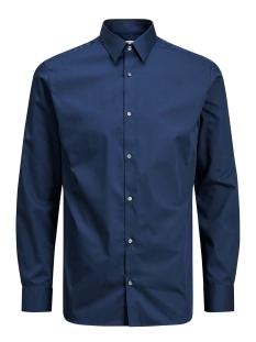 Jack & Jones Overhemd JPRNON IRON SHIRT L/S NOOS 12125792 Navy Blazer/SLIM FIT