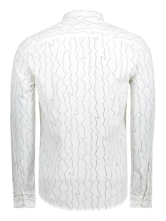onsomar ls aop shirt 22011190 only & sons overhemd white