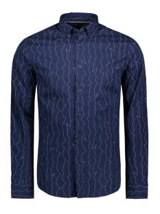 Only & Sons Overhemd onsOMAR LS AOP SHIRT 22011190 Maritime Blue