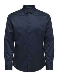 Only & Sons Overhemd onsALVES LS 2-PLY EASY IRON SHIRT N 22009491 Dress Blues