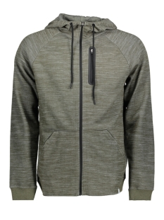 Only & Sons Vest onsVINN 2.0 ZIP HOODIE NOOS 22011065 Forest Night