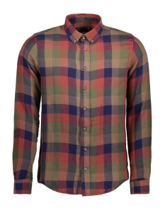 mu100108 haze & finn overhemd carnelian check