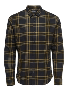 Only & Sons Overhemd onsOTHAN LS Y/D CHECK SHIRT 22011280 Spectra Yellow