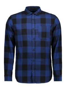 Jack & Jones Overhemd JORDYLAN SHIRT LS STS 12138283 Estate Blue/SLIM