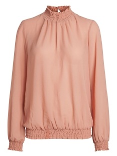 Pieces Blouse PCAMALIE SMOCK LS TOP NOOS 17092409 Rose Dawn