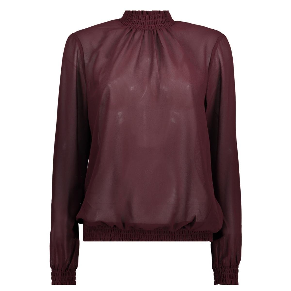 pcamalie smock ls top noos 17092409 pieces blouse winetasting
