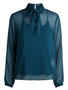Pieces Blouse PCFRANCES LS T-NECK TOP DC 17091223 Legion Blue