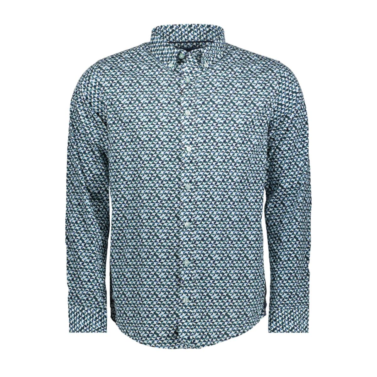 mc10 01011 2 haze & finn overhemd 3d cube green