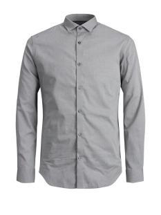 Jack & Jones Overhemd JPRADRIAN SHIRT L/S NOOS 12139573 Grey Melange