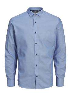 jpradrian shirt l/s noos 12139573 jack & jones overhemd cashmere blue