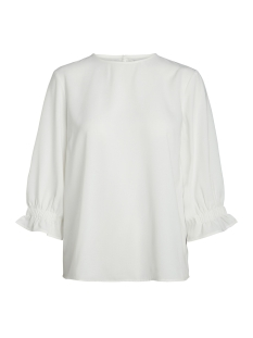 Pieces Blouse PCTILDA 3/4 TOP 17091692 Cloud Dancer