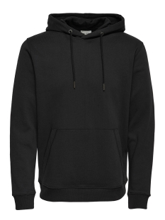 Only & Sons Sweater onsBASIC SWEAT HOODIE BRUSHED NOOS 22011744 Black