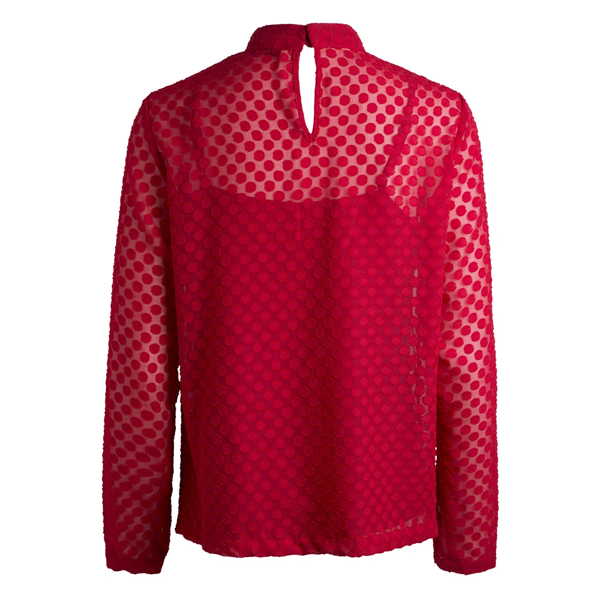 pcdoma ls t-neck top bf 17090326 pieces blouse scooter