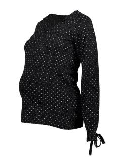 Mama-Licious Positie shirt MLBITTEN  L/S JERSEY TOP A. V. 20009061 Black