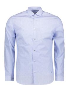 Twinlife Overhemd JPRCOLIN DOBBY SHIRT L/S PLAIN 12139581 Cashmere Blue/SLIM FIT