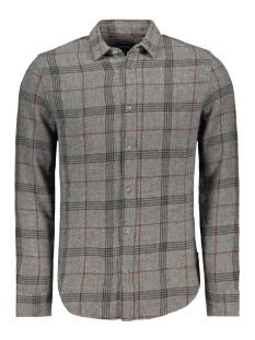 Only & Sons Overhemd onsMADS LS GRINDLE CHECK SHIRT 22011690 Dark Grey Melange