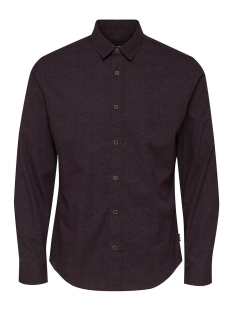 Only & Sons Overhemd onsMEXIT LS AOP SHIRT 22011704 Winetasting