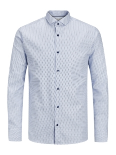 Jack & Jones Overhemd JPRJOEL SHIRT L/S 12143524 Cashmere/SLIM FIT