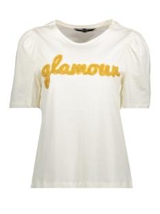 Vero Moda T-shirt VMMUSE SS TOP BF 10202457 Pristine/PRISTINE W. GLAMOUR