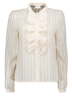 vmflorence ls ruffel shirt ga 10206563 vero moda blouse pristine