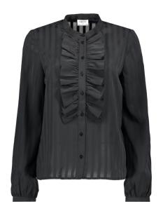 vmflorence ls ruffel shirt ga 10206563 vero moda blouse phantom