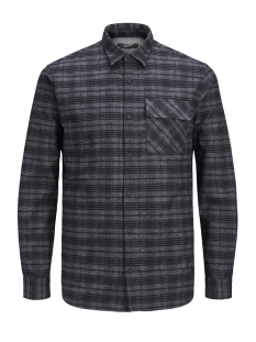 Jack & Jones Overhemd JPRCAMERON SHIRT L/S ONE POCKET 12139602 Dark Grey