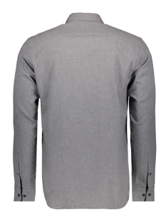 jprcameron shirt l/s one pocket 12139602 jack & jones overhemd light gray