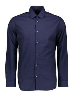 Jack & Jones Overhemd JPRELLIOT SHIRT L/S 12143525 Navy Blazer/SLIM FIT