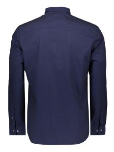 jprelliot shirt l/s 12143525 jack & jones overhemd navy blazer/slim fit