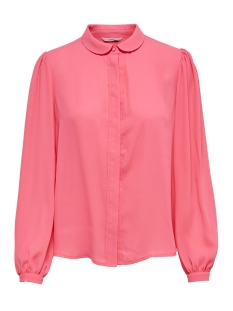 Only Blouse onlMARTHA LS ROUND COLLAR SHIRT 15167221 Camelia Rose