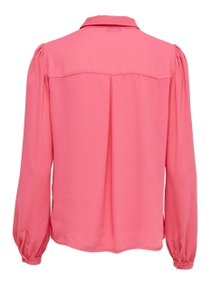 onlmartha ls round collar shirt 15167221 only blouse camelia rose