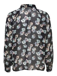 jdyhanna l/s shirt wvn 15165910 jacqueline de yong blouse black/grey flower