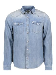 Garcia Overhemd Z1081 223 Indigo Blue