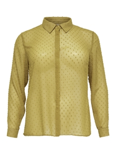 Only Carmakoma Blouse carDANA LS SHIRT 15171033 Harvest Gold