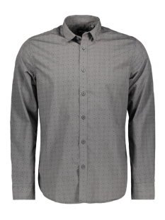 Only & Sons Overhemd onsMARK LS STRIPE DOT SHIRT 22011718 Phantom