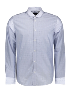 Only & Sons Overhemd onsMARK LS STRIPE DOT SHIRT 22011718 Cashmere Blue