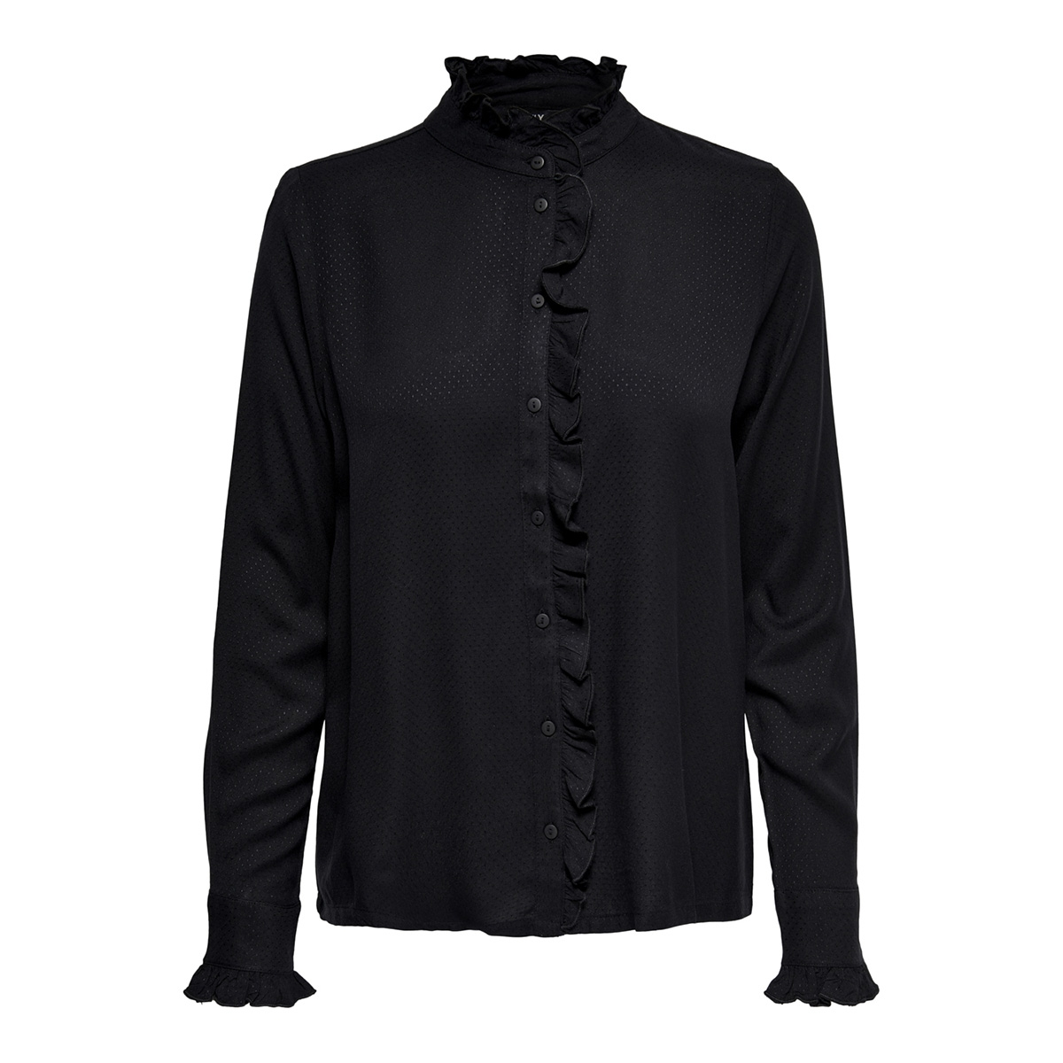 onlmiriam ls shirt wvn 15171037 only blouse black