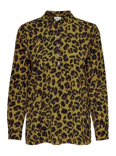Jacqueline de Yong Blouse JDYMILO NEW L/S SHIRT WVN 15177619 Golden Brown