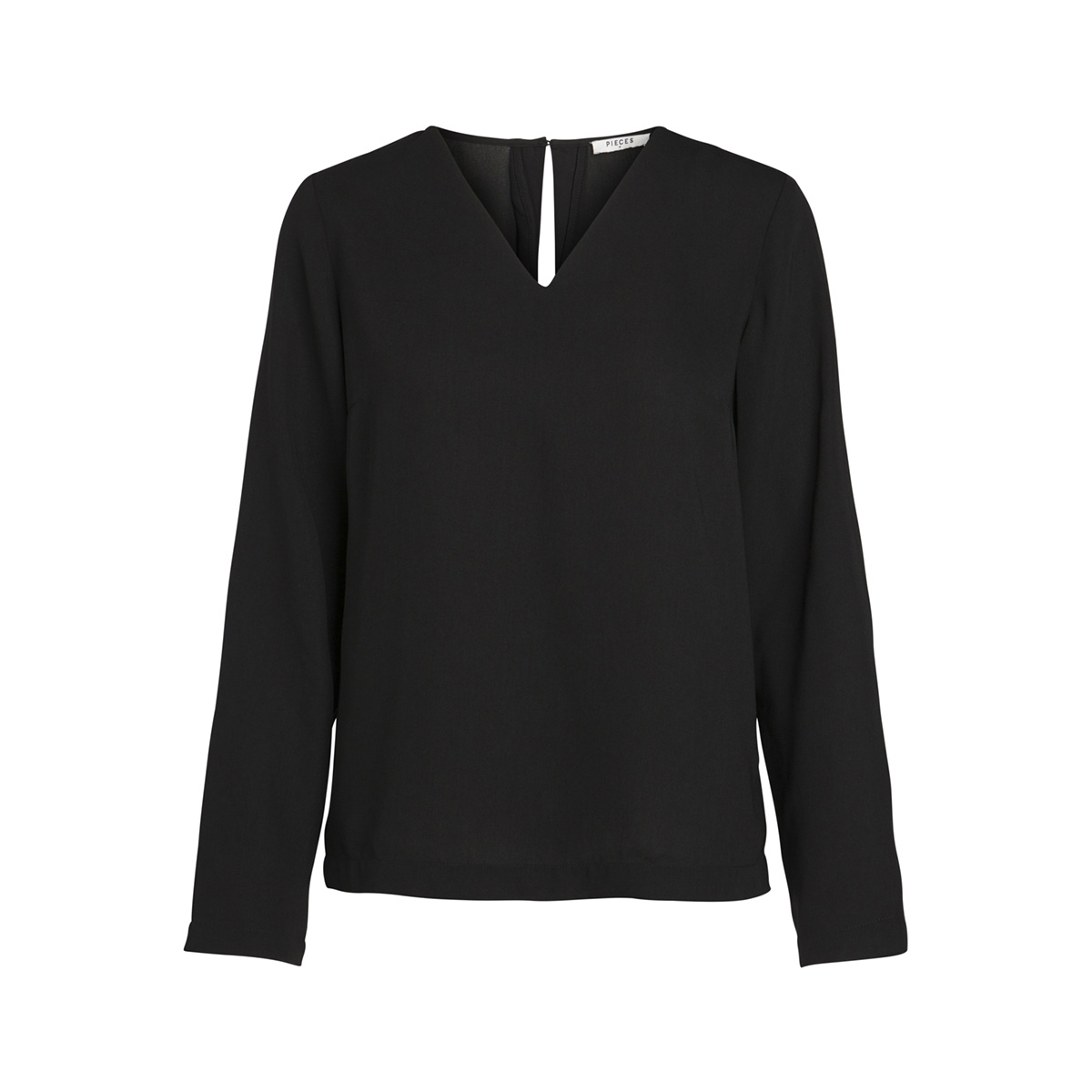 pckendall ls top 17092948 pieces blouse black
