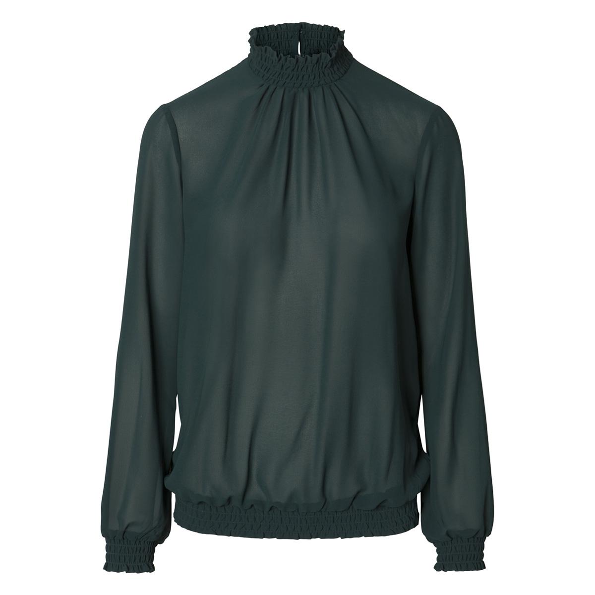 pcamalie smock ls top noos 17092409 pieces t-shirt ponderosa pine