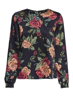 Only Blouse onlROYAL LS TOP WVN 15167098 Night Sky/OPULENT FLOWER
