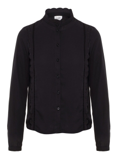 Vero Moda Blouse VMFLORIDA L/S LATTER SHIRT GA 10207396 Black